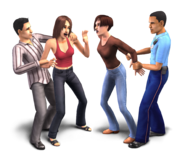 The Sims Life Stories Render 02