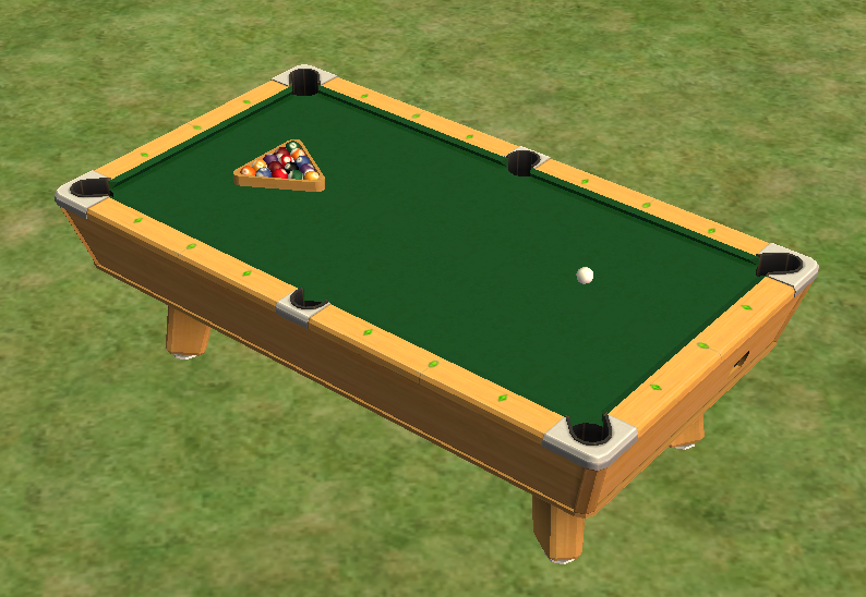 Pool Table The Sims Wiki FANDOM Powered By Wikia - Games to play on a pool table