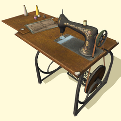 Mechanical Stitching Machine by Antique Artifacts