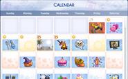 TS4 Seasons Calender UI 2