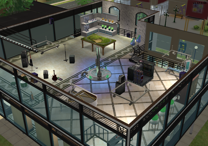 Amar's Clothing and Instruments third floor isometric 2