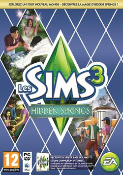 Jaquette Les Sims 3 Hidden Springs