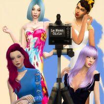 Le Mean Girls