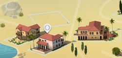 Skyward Palms map