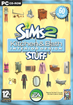 The Sims 2 Kitchen & Bath Interior Design Stuff Cover