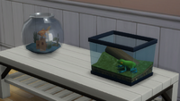 TS4 Goldfish and Leaf Frog