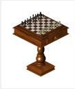 Ts1 chuck matewell chess set