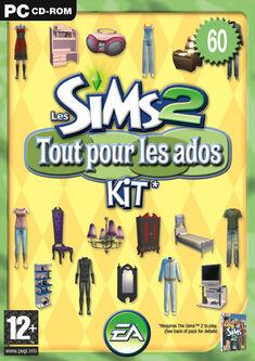 Jaquette Les Sims 2 Tout pour les ados