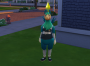Llamacorn outfit in The Sims 4