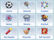 TS4 trait selection - Emotional