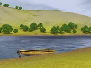 Boat in Champs Les Sims