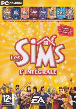 Jaquette Les Sims L'intégrale