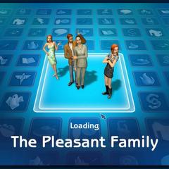 Pantalla de carga de la Familia Gentil en Los Sims 2.