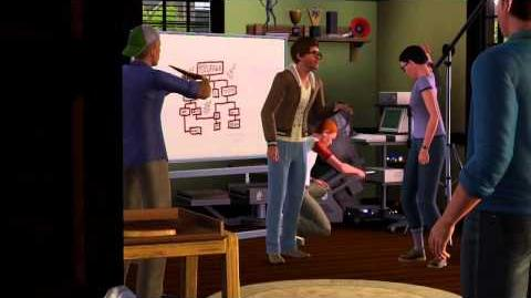 Los Sims 3 - Movida en la Facultad. Trailer Oficial (HD)-0