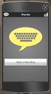 Make new blog interface