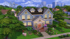 TS4Seasons Spring holiday house
