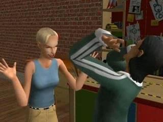 Les Sims 2 La Bonne Affaire - Viré!