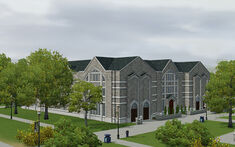 The Sims 3 - University Life - Nichols School of Business