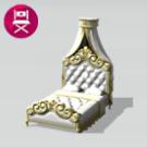 Cama de matrimonio Regia Reina