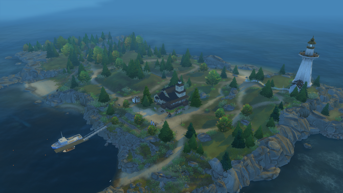 Deadgrass Isle overview