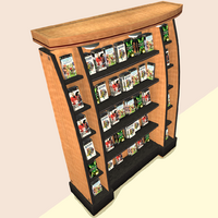 Endeavor Office Freestanding Game Rack