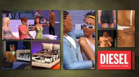 Los Sims 3 - Diesel Accesorios. Trailer Oficial