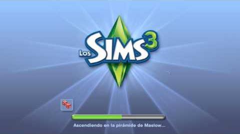 Pantalla de carga de Los Sims 3.mp4