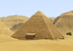 Pyramide des sables brûlants