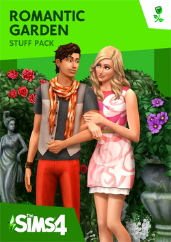 The Sims 4- Romantic Garden Stuff Cover