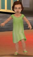 (TS2 Remake) Beta Female Toddler Hair (Brown)