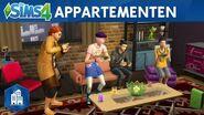 Officiële appartementrailer van De Sims Stedelijk Leven
