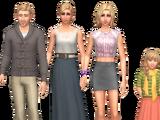 Bjergsen family