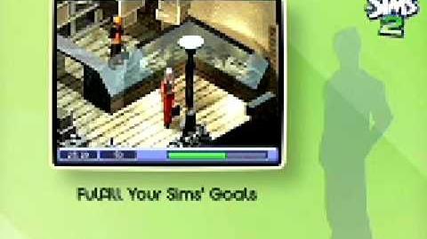 Sims 2 trailer para ps2