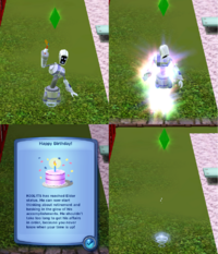 Stages of Plumbot Aging Glitch