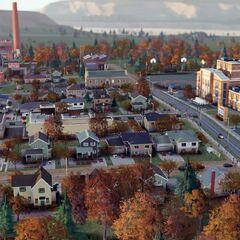 Barrio en los Suburbios