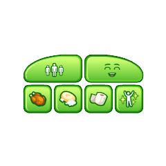 Necesidades de The Sims Social.