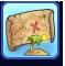 Mapa de isla inexplorada