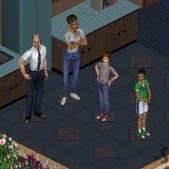 Familia Gentil en el original <i>Los Sims</i>.