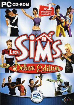 Jaquette Les Sims Deluxe