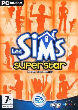 Jaquette Les Sims Superstar