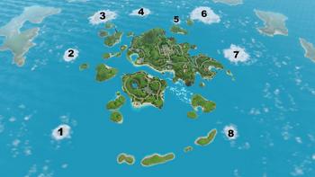 Îles inexplorées Isla Paradiso