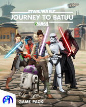 De Sims 4 Star Wars Journey to Batuu Cover