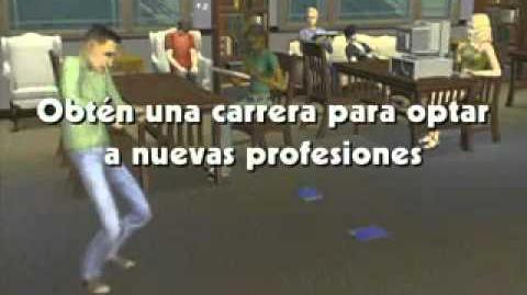 Los Sims 2 Universitarios - Tráiler en español