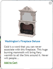 Washingtons Fireplace Deluxe