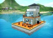 Плавучий дом райские острова