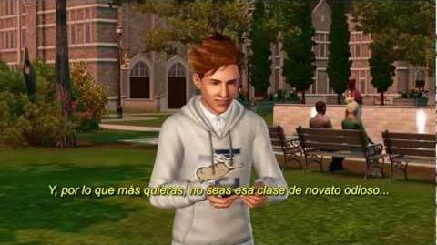 Los Sims 3 - Movida en la Facultad. Trailer de Lanzamiento