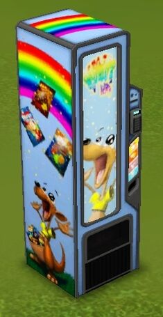 Sugar Slide Vending Machine