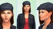 TS4 CAS Womanblackcap