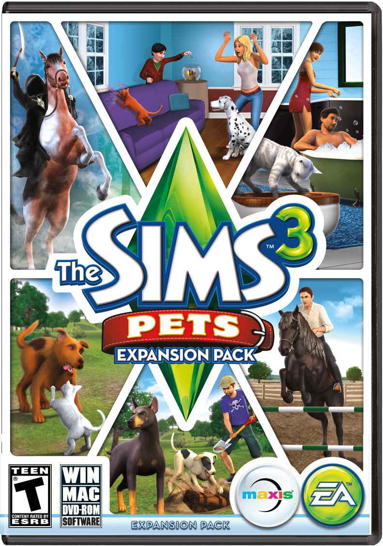 The Sims 3 Pets Cover jpg. Image   The Sims 3 Pets Cover jpg   The Sims Wiki   FANDOM powered