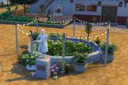 Madre Cosecha statue